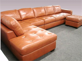 Beautiful Leather Couch for Sale - Sample