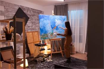 Sample Online Event - Virtual Artist Festival
