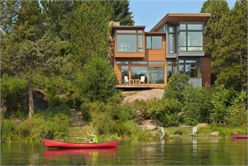 Riverfront Home - Sample Ad