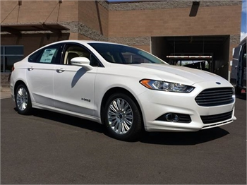 Ford Fusion Hybrid - Sample Ad