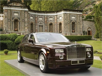Rolls Royce Phantom - Sample Ad